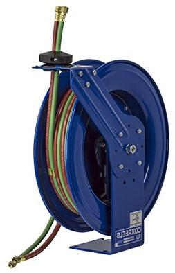 Coxreels SHW-N-160 Dual Hose Spring Rewind Hose Reel for oxy