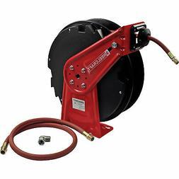 Reelcraft Spring-Retractable Air Hose Reel w/3/8inx50ft Hose