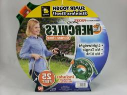 Stainless Steel Garden Hose Heavy Duty Comes With Reel 25 Fe