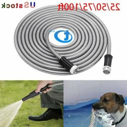 stainless steel metal garden hose water pipe