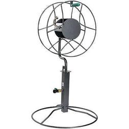 Yard Butler Free Standing Swivel Hose Reel with Patio Base M