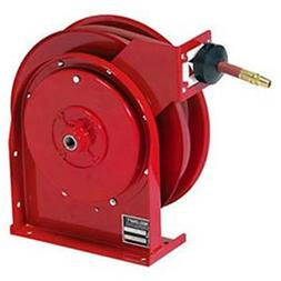 """All Steel Compact Retractable Hose Reel For Air/Water, 3/8"""""""