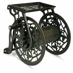 Ames Vintage Garden Hose Reel Holder Storage Water Steel Wal