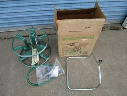 Vintage new in box Ames metal hose reel green home lawn gard