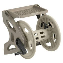Wall Mount Hose Reel 200' w/ Storage Tray Lawn Garden Yard P