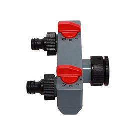Wall of Dragon 2 Way Water Distributor Tap Adapter ABS Plast