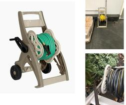 WATER HOSE REEL CART 175 Ft Durable Mobile Holder Storage Wh