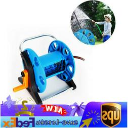 WATER HOSE REEL CART Durable Mobile Holder Storage Wheels Pa