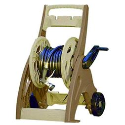 BS Water Hose Reel Cart 175 Ft Patio Garden Wheels Hoses Hol