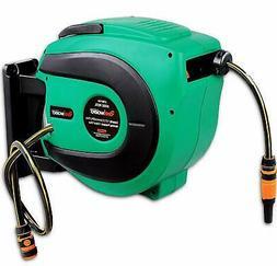 ReelWorks Water Hose Reel Retractable Elite 1/2' Inch X 50'
