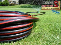 5/8 inch x 50 feet Garden Water Hose Commercial Heavy Duty N